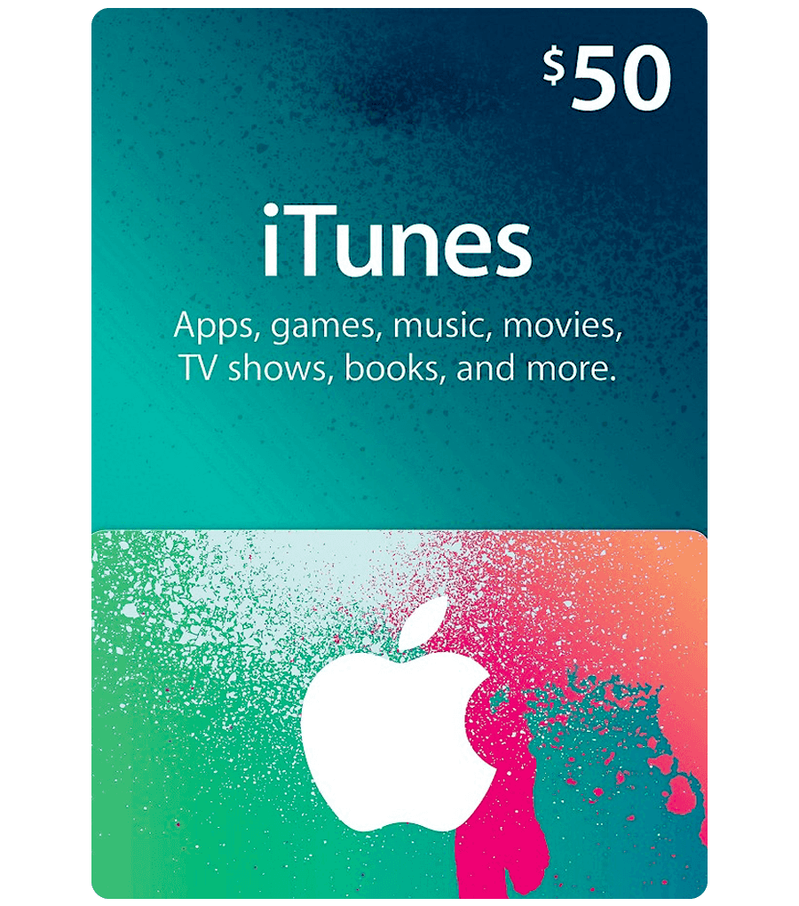 iTunes $50 Gift Card US