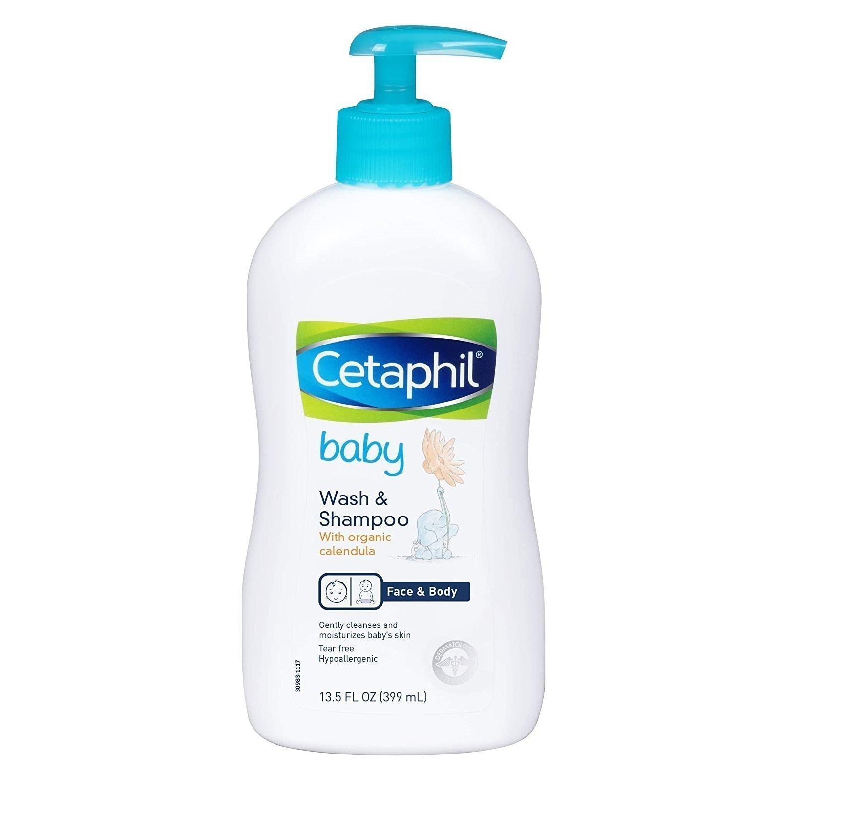Cetaphil Baby Wash & Shampoo with Organic Calendula 13.5 FL OZ