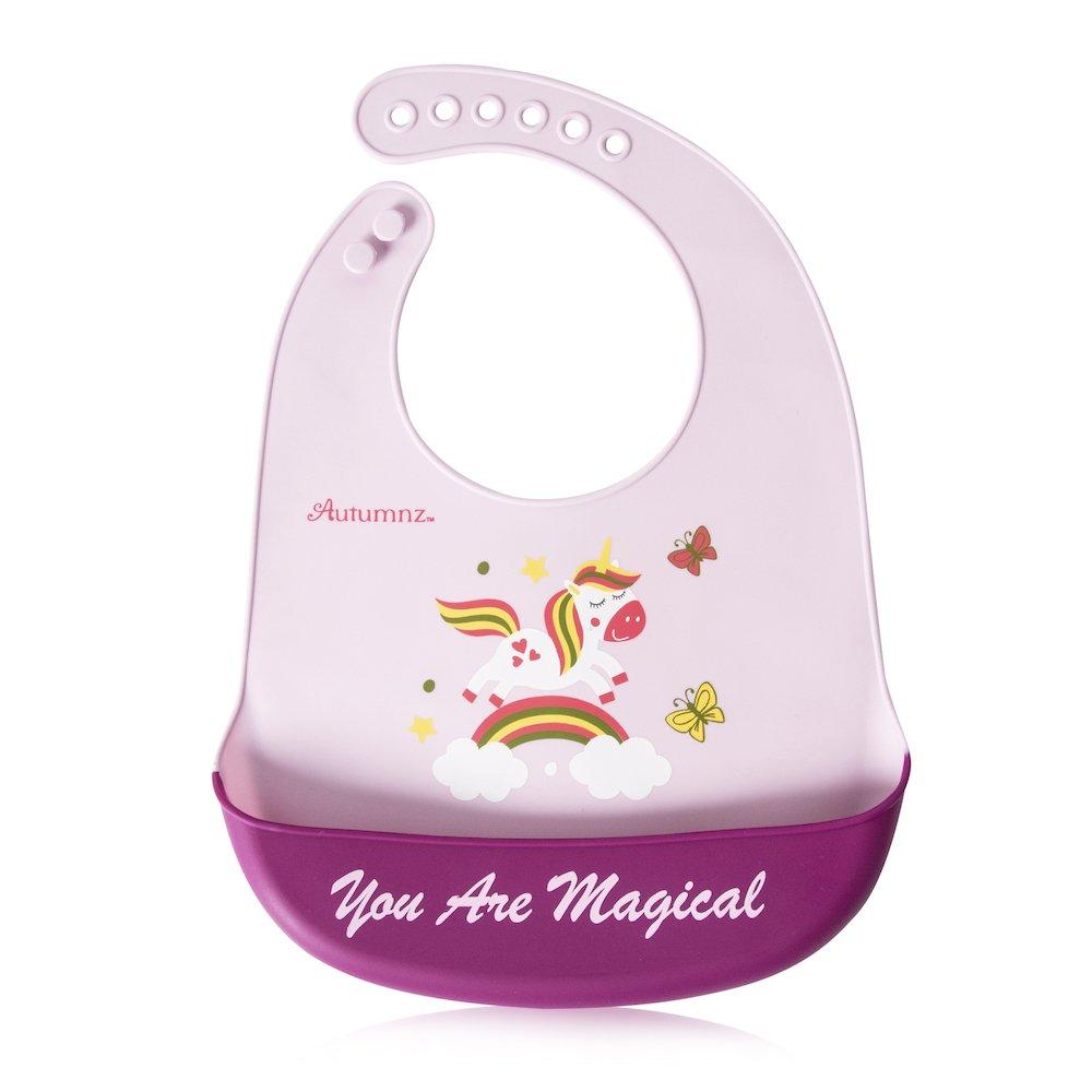 Autumnz Adjustable Soft Silicone Bib *You are Magical*